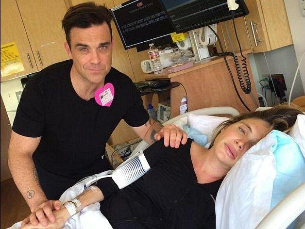 Robbie Williams ponownie zosta� ojcem (FOTO+VIDEO)