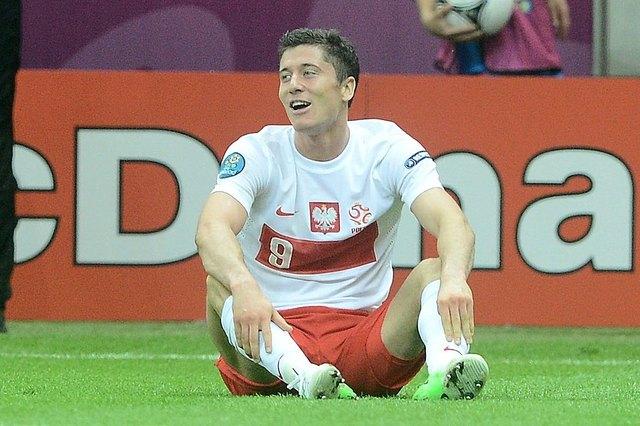 Oburzony Lewandowski przerwa� wywiad z dziennikarzem