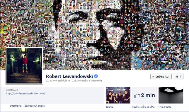 Robert Lewandowski bije rekordy w sieci