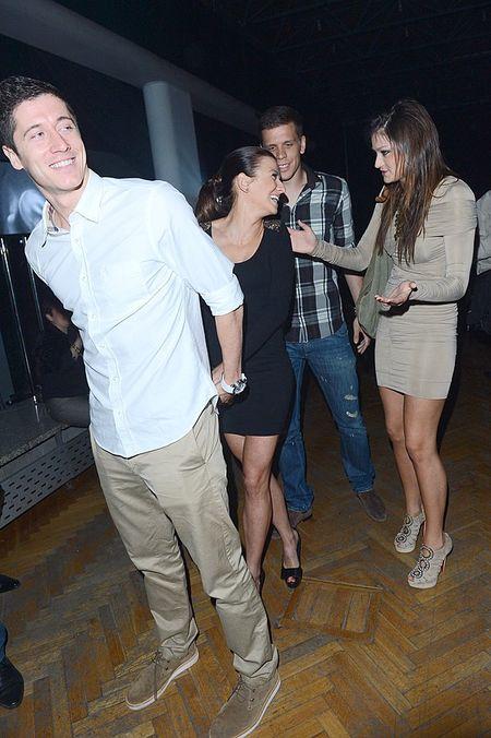 Lewandowski z narzeczoną gośćmi Playboya (FOTO)