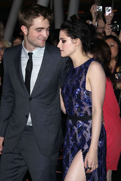 Robert Pattinson waha się