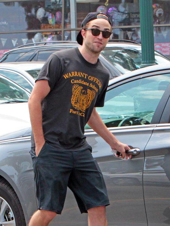 Robert Pattinson zacz�� trenowa� boks po rozstaniu z Kristen