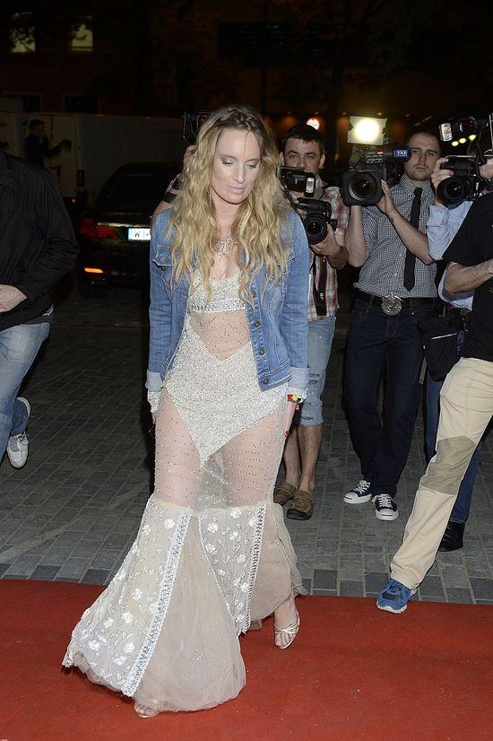 Celebryci na pokazie mody Balmain (FOTO)