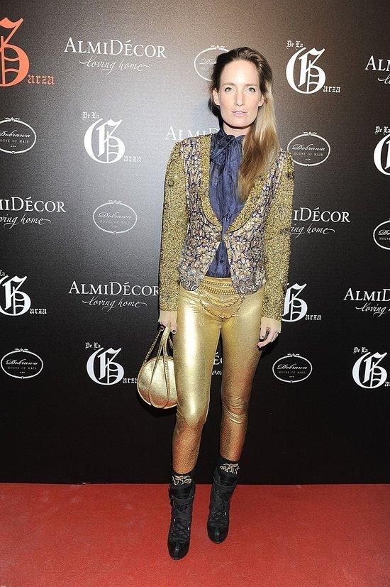 Ślotała w szlafroku, Śródka w złotych legginsach (FOTO)
