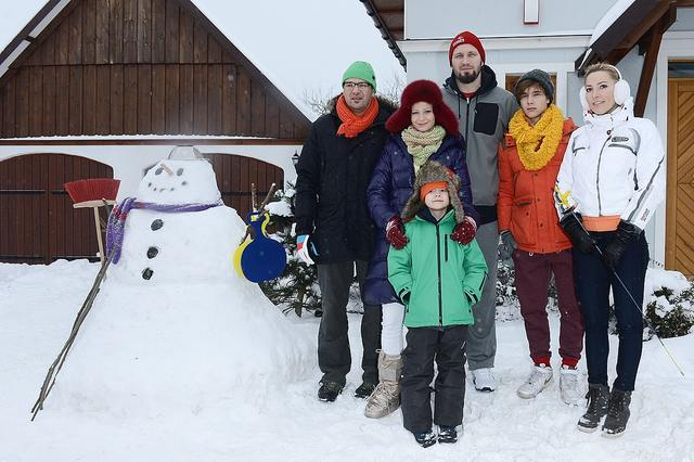 Olimpijczycy na planie Rodzinki.pl (FOTO)