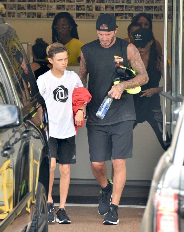 Nie tego spodziewał się David Beckham po synu Romeo?