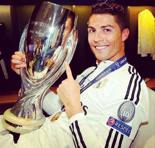 Cristiano Ronaldo piszczy podczas splasha (VIDEO)