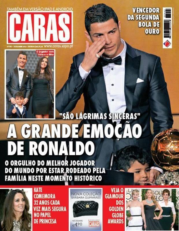 Cristiano Ronaldo przeżył rodzinną tragedię
