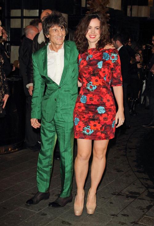 Ronnie Wood ożenił się z młodszą o ponad 30 lat dziewczyną