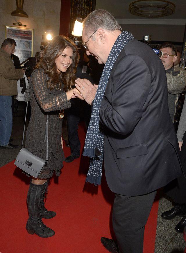 Weronika Rosati na premier� przysz�a z... (FOTO)