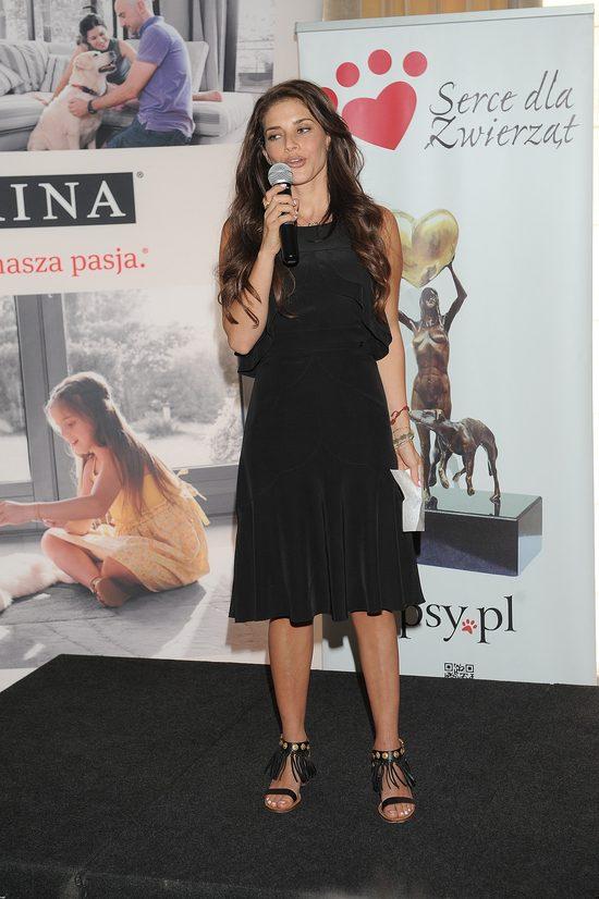 Weronika Rosati jest wierna swojemu stylowi (FOTO)