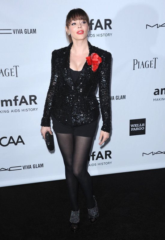 Gwiazdy na gali The amfAR Inspiration (FOTO)