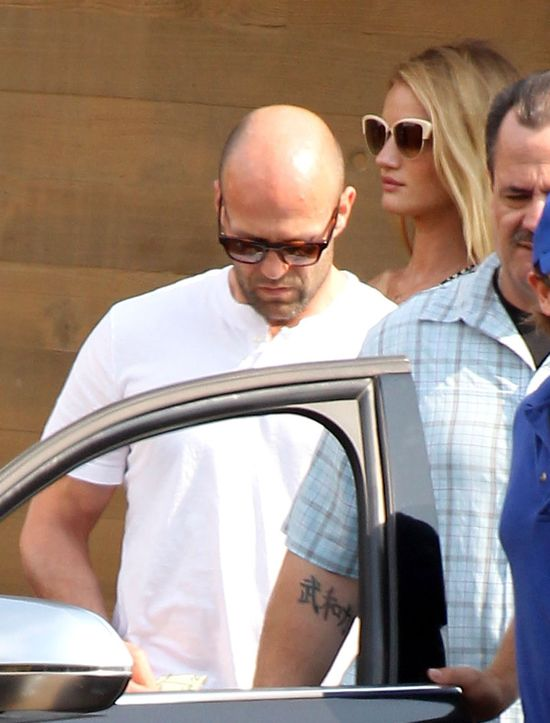 Rosie Huntington-Whiteley i Jason Statham na lunchu (FOTO)