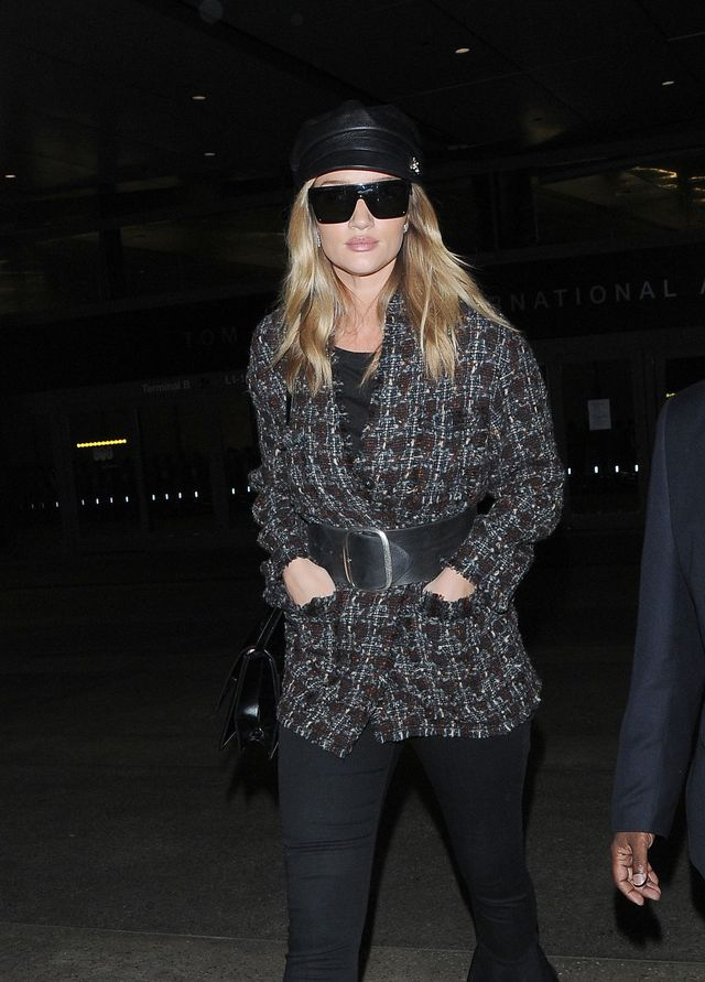 Rosie Huntington-Whiteley pokazuje co znaczy modna mama!