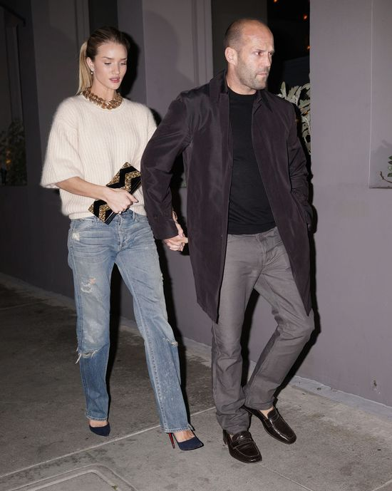 Jason Statham i Rosie Huntington-Whiteley na randce (FOTO)