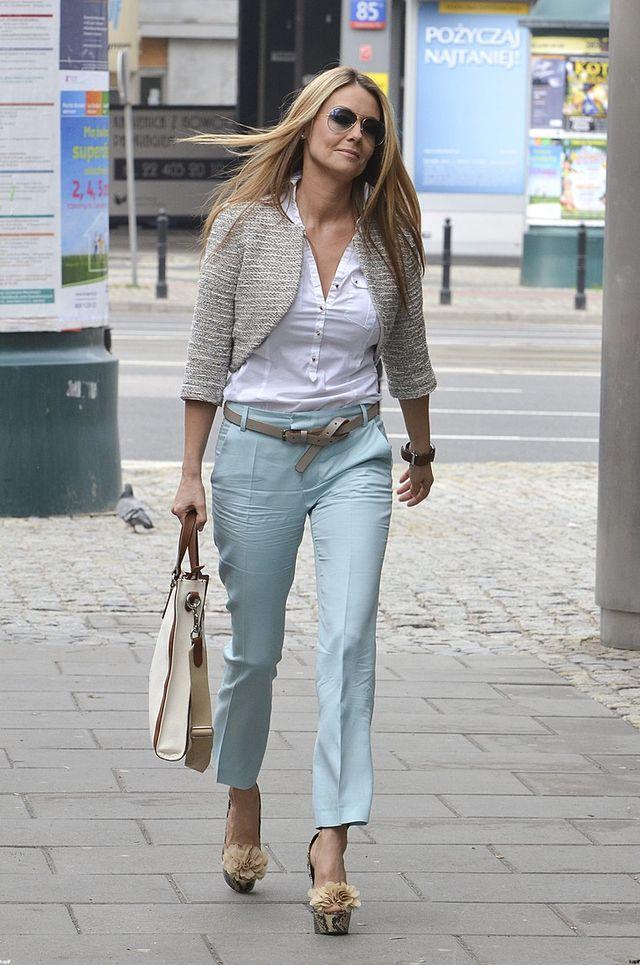 Ma�gorzata Rozenek nosi si� na rockowo pod wp�ywem Majdana?