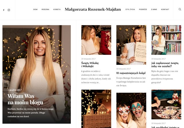 Małgorzata Rozenek-Majdan DZIŚ otwiera swój nowy biznes