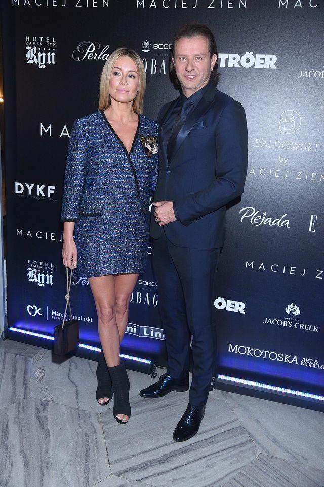 Rozenek-Majdan z mężem w łóżku w Vivie! - na bogato (Instagram)