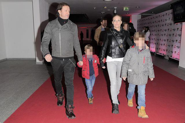 Małgorzata Rozenek na imprezie z Radkiem i synami (FOTO)