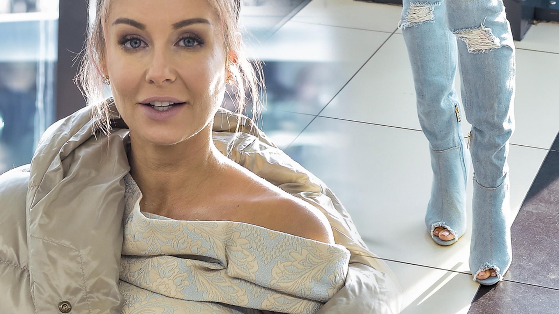 Małgorzata Rozenek z NOWĄ fryzurą na ramówce TVN-u (ZDJĘCIA)