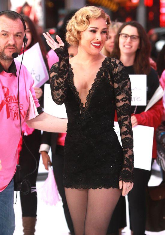Co powiecie na Rumer Willis w blondzie? (FOTO)