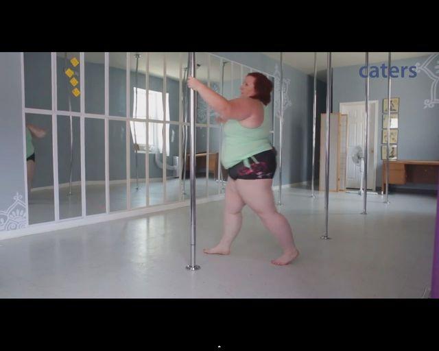 Oto Lulu. Wa�y 114 kg i jest najci�sz� tancerk� na rurze