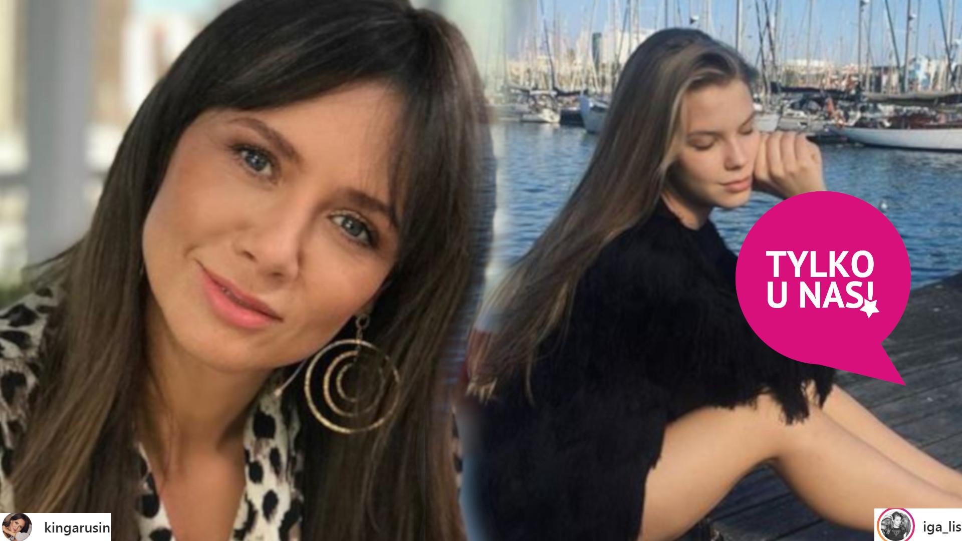 Kinga Rusin wyjaśnia, dlaczego jej córka Iga KOŃCZY z modelingiem