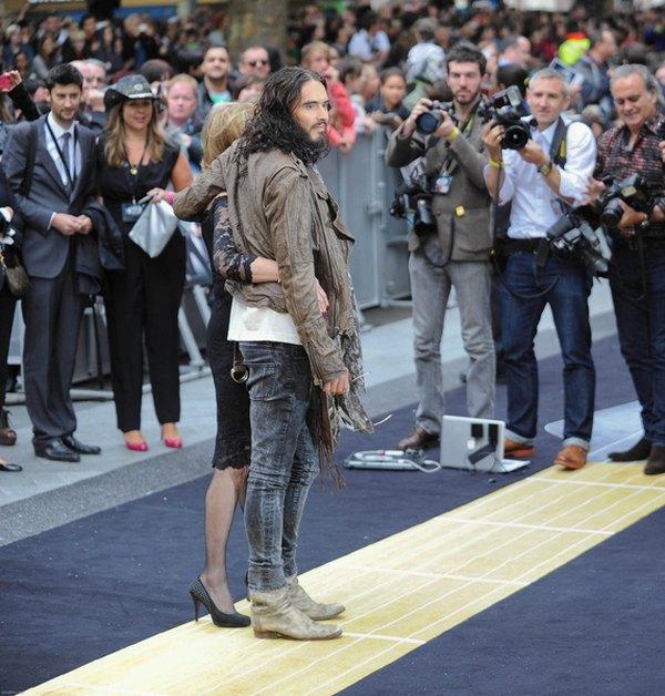 Russell Brand z kobietą swego życia (FOTO)