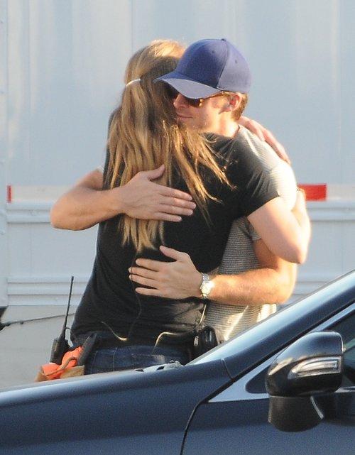 Ryan Gosling wylewnie wita się z dziewczyną (FOTO)