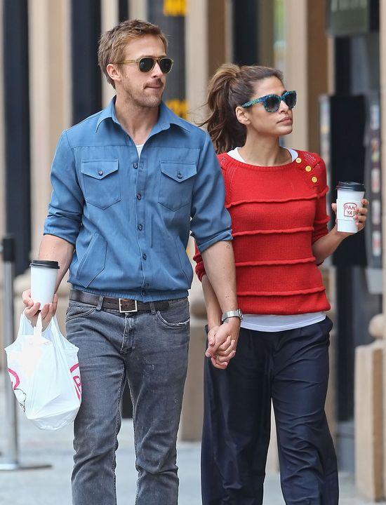 Ryan Gosling został ojcem! Eva Mendes urodziła!