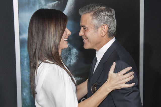 George Clooney i Sandra Bullock - coś z tego będzie?