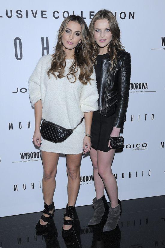 Sara Boruc kontra Jessica Mercedes na pokazie Mohito (FOTO)