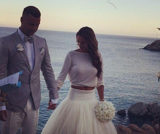 Mamy zdjęcia z wesela Sary Mannei i Artura Boruca (FOTO)