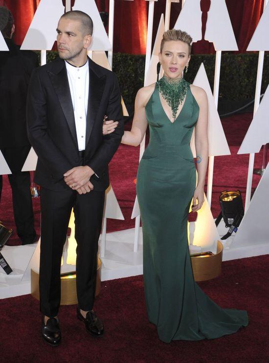 Scarlett odciągała mleko z piersi na rozdaniu Oscarów