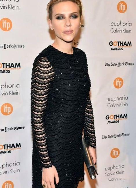 Scarlett Johansson jeszcze nigdy nie byla tak szczupła!