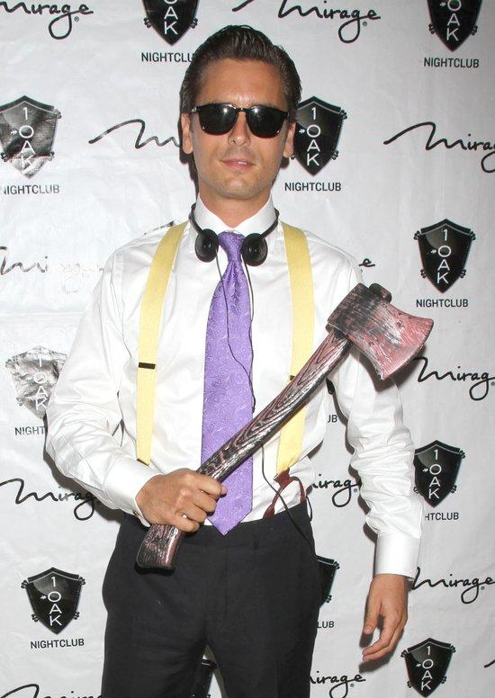 Scott Disick w roli American Psycho (FOTO)