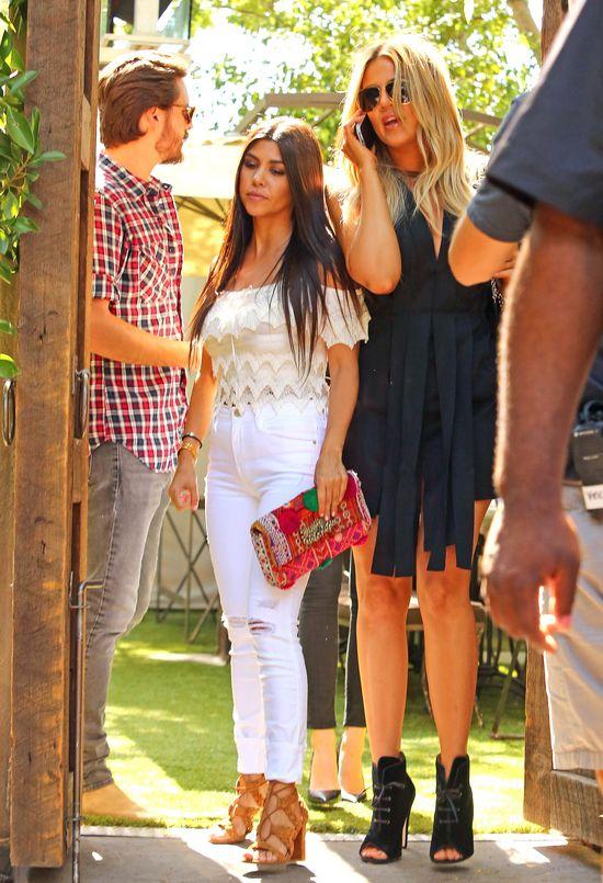 Są zdjęcia Scotta Disicka zdradzającego Kourtney Kardashian!