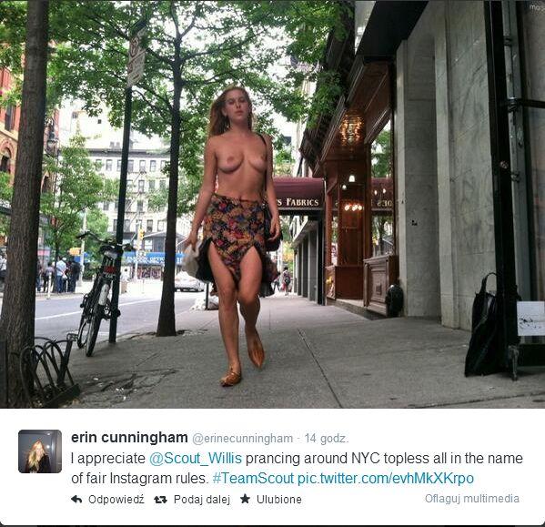 Córka Demi Moore i Bruce'a Willisa toples na zakupach (FOTO)
