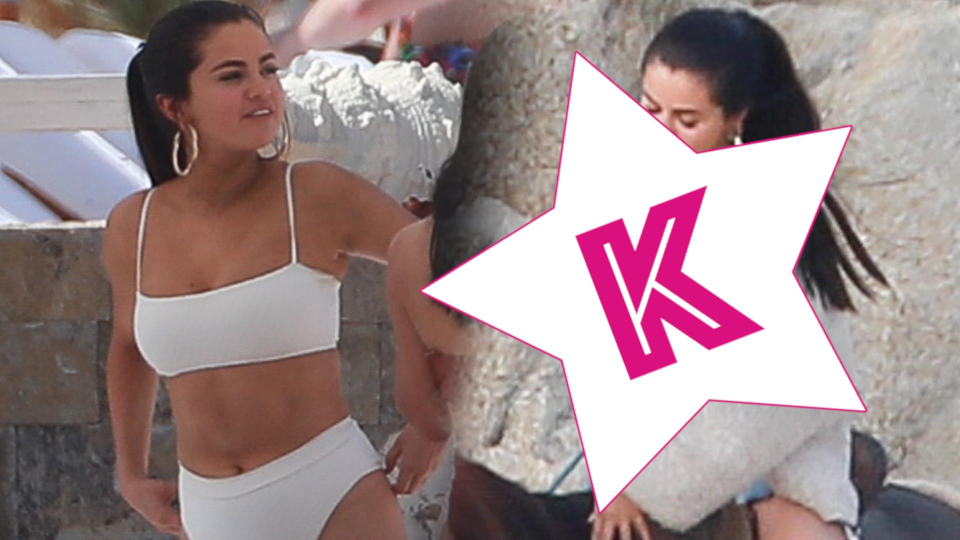 Selena Gomez w końcu wygląda na szczęśliwą! Jak spędza wakacje w Meksyku? (ZDJĘCIA)