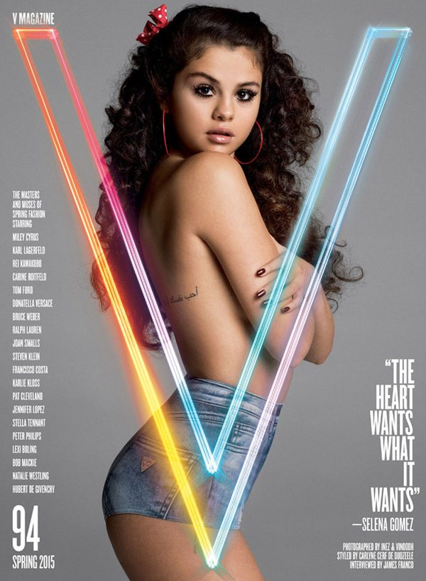 Selena Gomez wywołała skandal sesją dla magazynu V (FOTO)