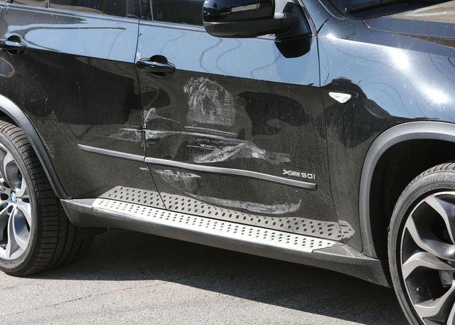 Który kierowca miał mały wypadek? (FOTO)