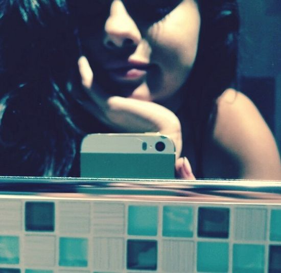 Selena i Justin robią selfie w jego łazience