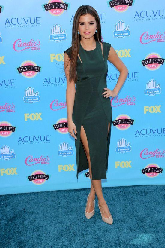 Jak prezentowała się Selena Gomez na rozdaniu Teen Choice?
