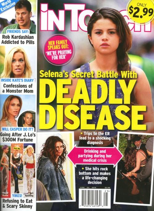 Selena Gomez k�ama�a odno�nie swojej choroby?