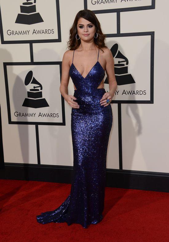 Selena na Grammy wyglądała mega seksownie. Z kim przyszła?
