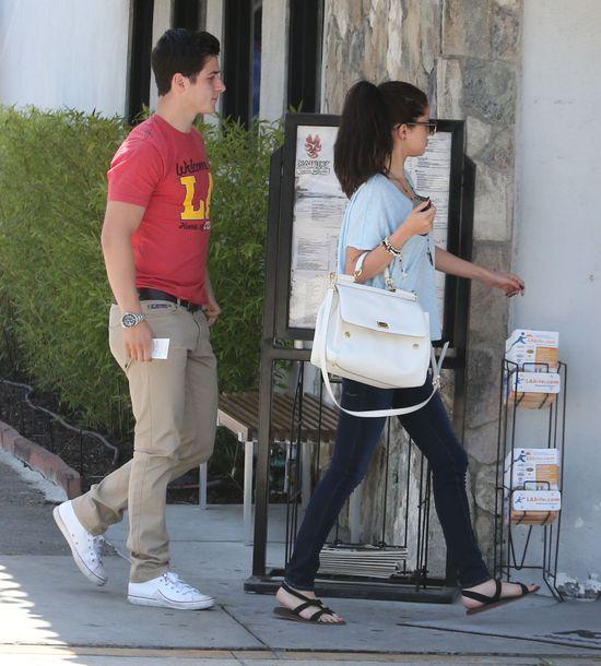 Selena Gomez na randce (FOTO)