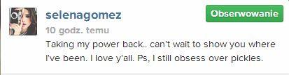 Selena Gomez chwali się zdjęciem w bikini (FOTO)