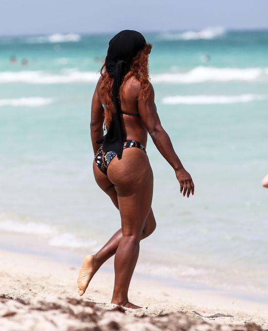 Serena Williams w bikini robi ogrrromne wrażenie (FOTO)