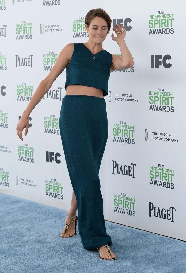 Czym Shailene Woodley karmi swoją pochwę?
