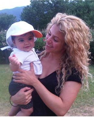 Shakira zasypuje fanów zdjęciami z synem